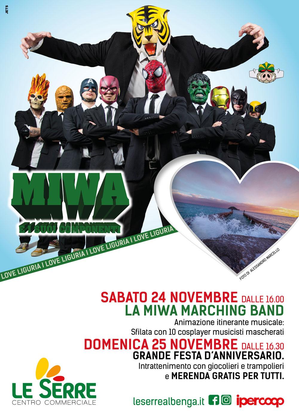 24-25 novembre MIWA e i suoi componenti