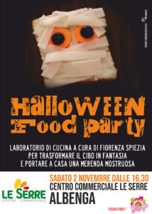 2 novembre Halloween Food Party