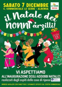 07 dicembre Il Natale dei nonni arzilli!